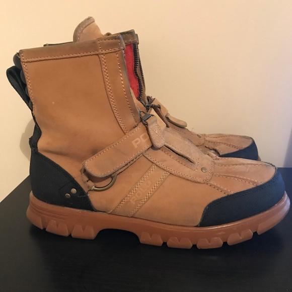 Conquest Ii Ralph Lauren Hi Boots10d Polo Men's OPuTXikZ